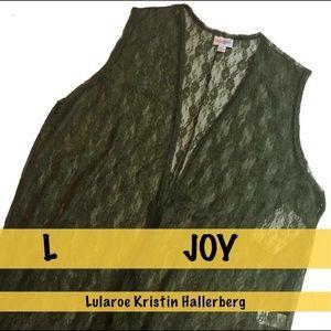 LulaRoe Lacey Hunter Green Joy